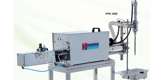 PPD Serisi Pnömatik Paslanmaz Dolum Makineleri