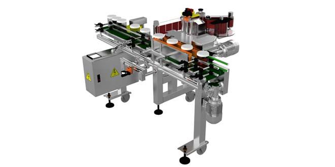 E-11 Kavanoz ve Şişe Etiketleme Makinası